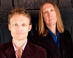 "Oliver Wood (Right) of the Wood Brothers is a guest on ""Rocky Mountain Reflections"""