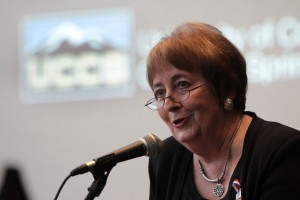 UCCS Chancellor Shockley discusses important issues on UCCS' College Radio Station.